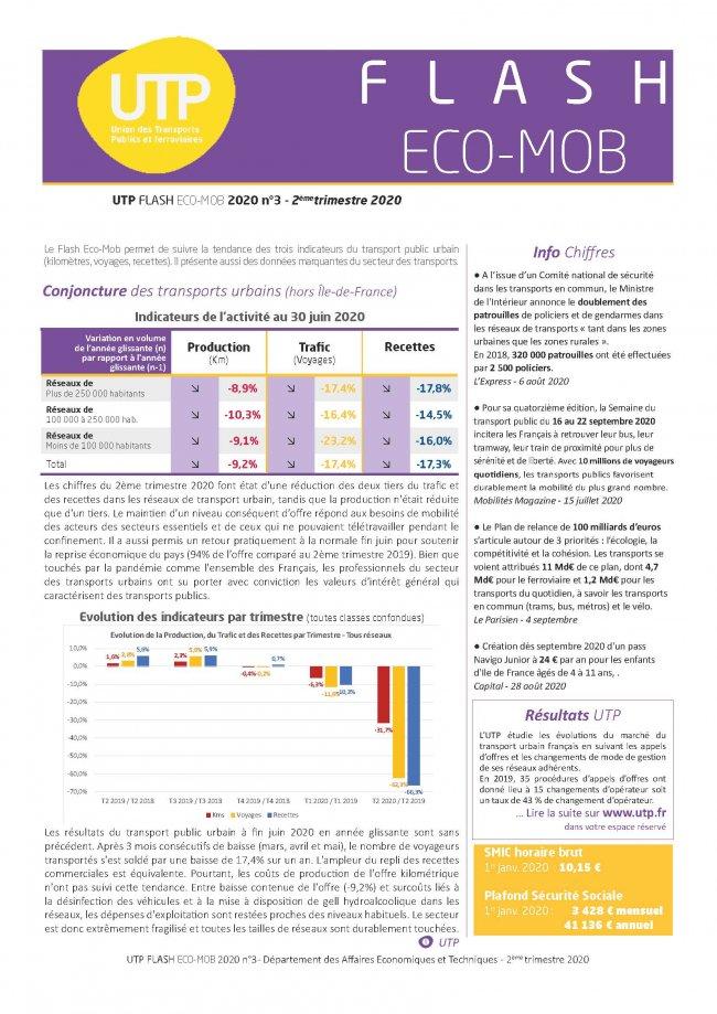 FLASH ECO-MOB DU 2ème TRIMESTRE 2020